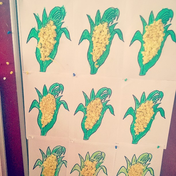 corn craft idea for kids (1)