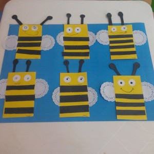 free bee craft idea (2)