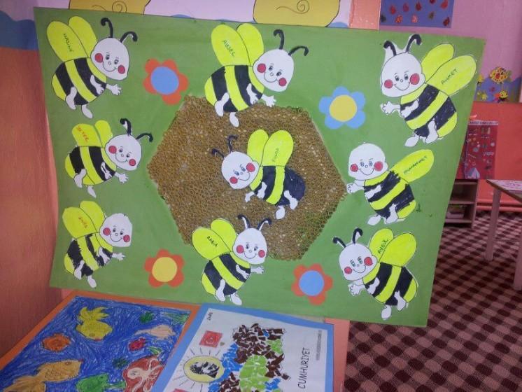 free bee craft idea (7)