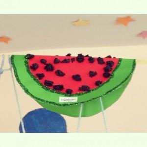 free watermelon craft