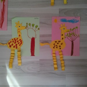 giraffe craft idea for kids (1)