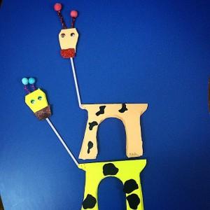 giraffe craft idea for kids (4)