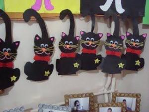 halloween cat craft idea