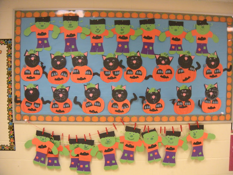 halloween bulletin boards for toddlers frameimage org