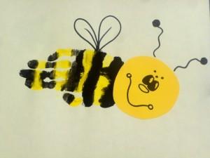 handprint bumblebee
