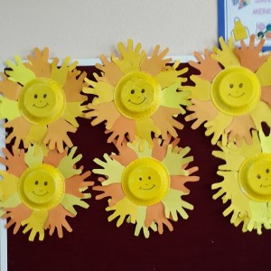handprint sun craft