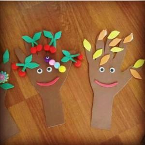 handprint tree craft
