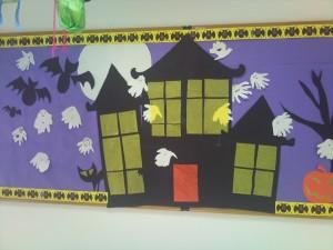 haunted house bulletin board