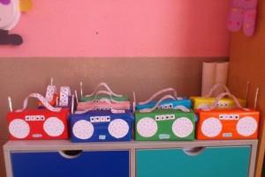 juice box radio craft idea