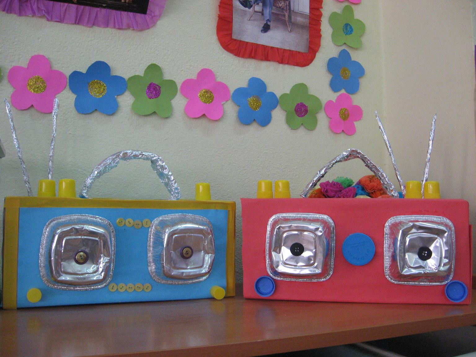 juice box radio crafts