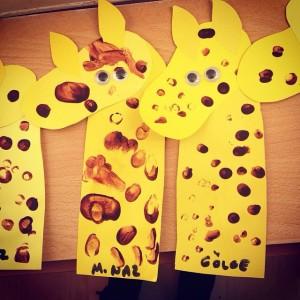 number 1 giraffe craft