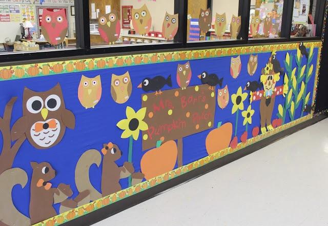 octaber bulletin board idea for kids (1)