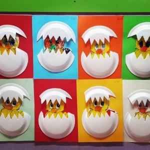 paper plate chicken craft (2)