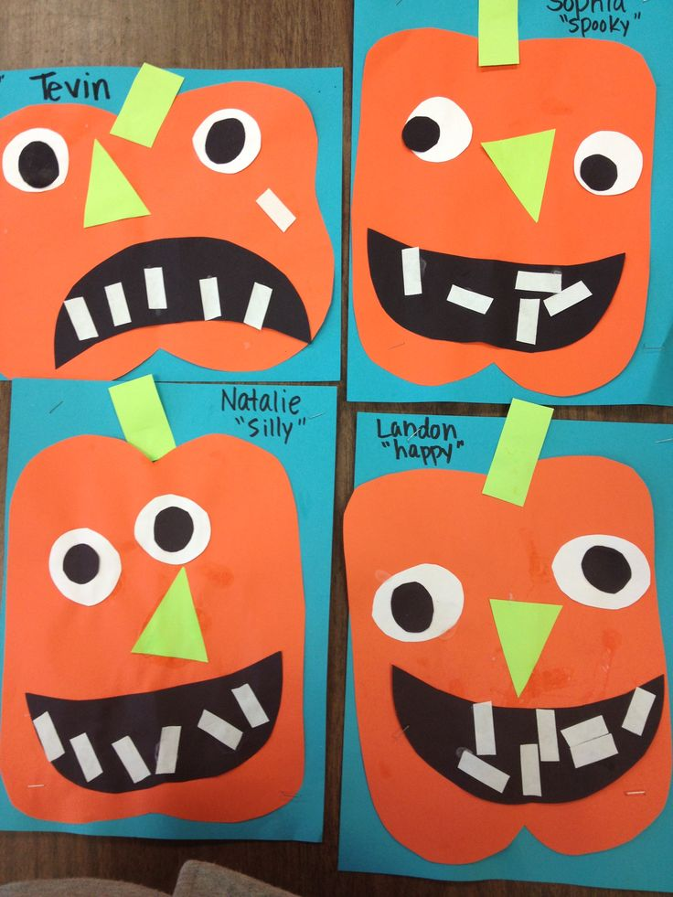 pumpkin craft idea for kids
