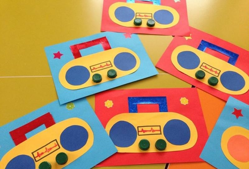 radio craft idea