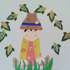 scarecrow bulletin board idea (2)