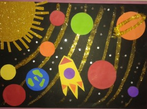 space bulletin board idea (2)