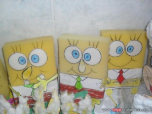 sponge bob craft (3)