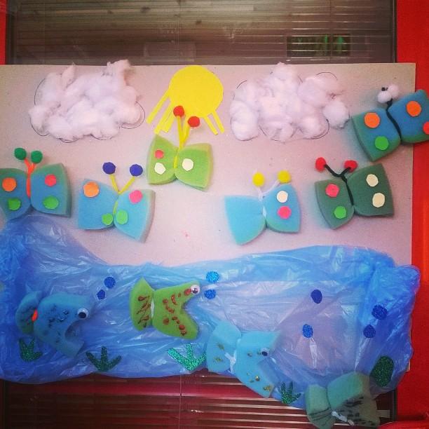 sponge-butterfly-craft