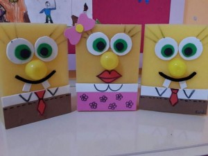 sponge craft idea