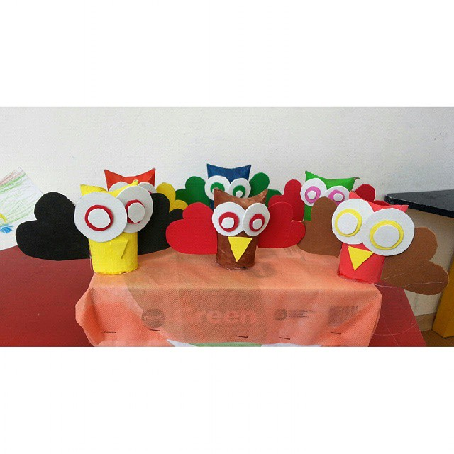 toilet paper roll owl craft