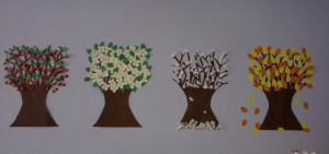 4 seasons craft idea for kids (1)