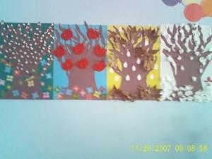 4 seasons craft idea for kids (2)