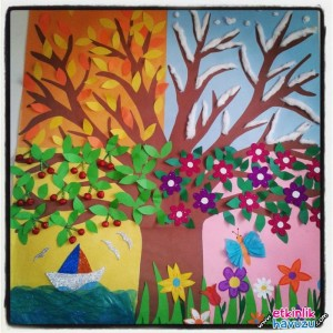 4 seasons tree craft (1)