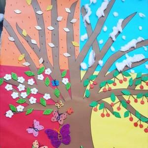 4 seasons tree craft (2)