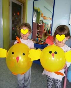 balloon chick craft