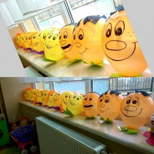 balloon craft idea for kids