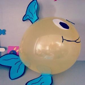 balloon fish craft