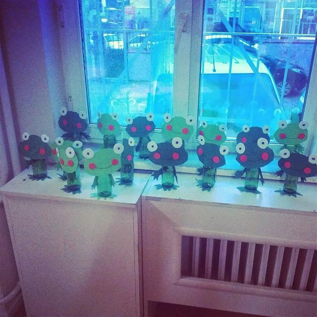 bottle frog crafts