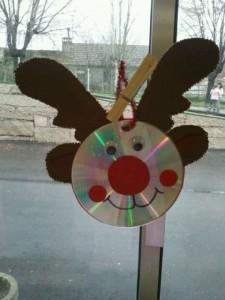 cd reindeer craft