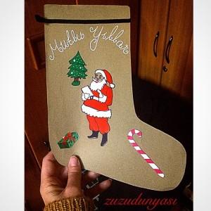 christmas socks craft (3)