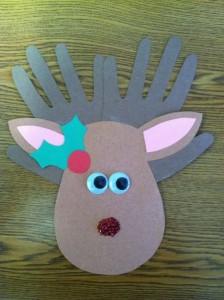 deer craft idea for christmas