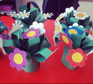 flower craft idea