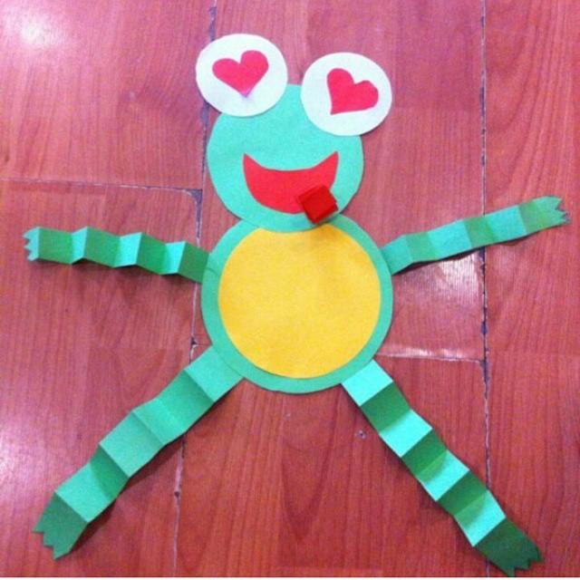 frog craft idea for kids (10)