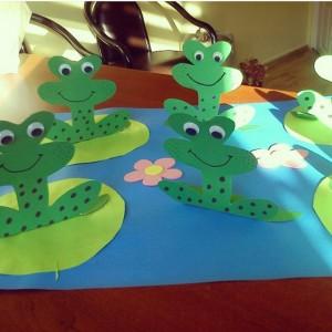 frog craft idea for kids (11)