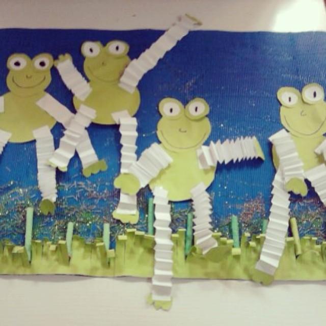 frog craft idea for kids (3)