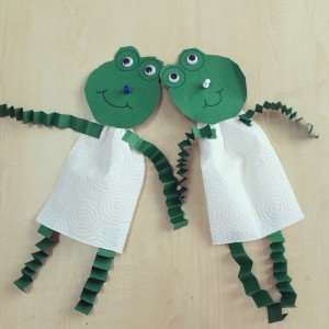 frog craft idea for kids (7)