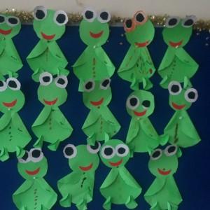 frog craft idea for kids (8)