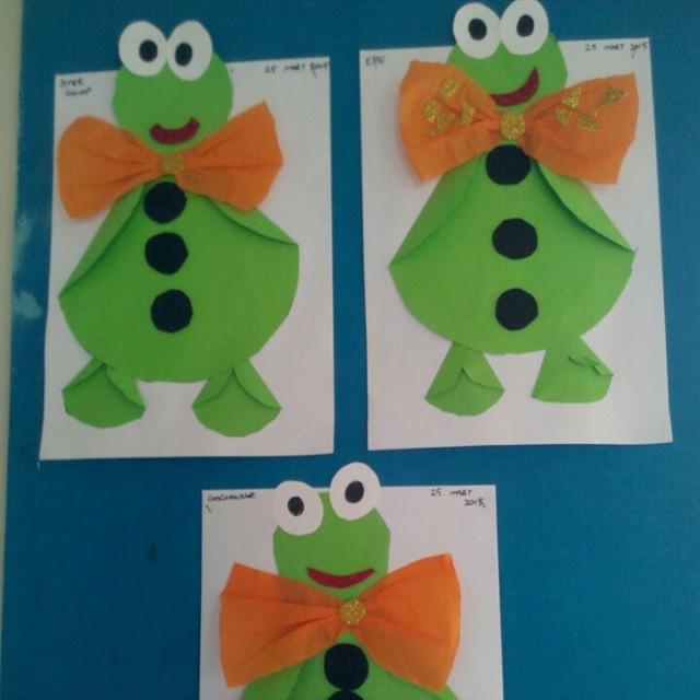 frog craft idea for kids (9)