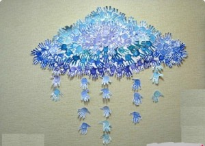 handprint cloud craft