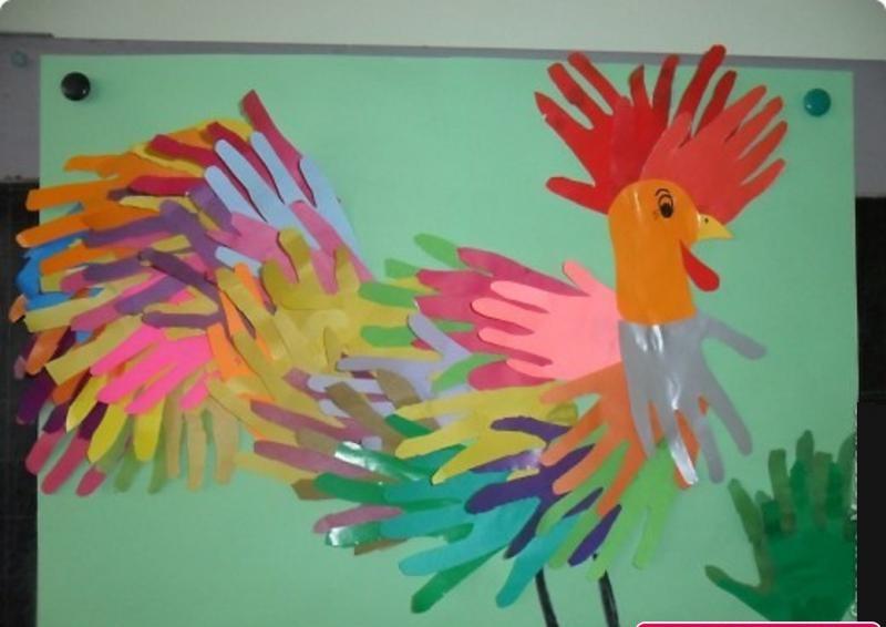 handprint hen craft (2)