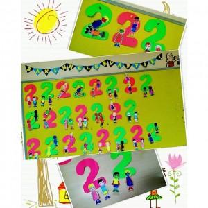 number 2 craft idea for kids