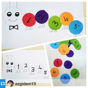 number craft idea