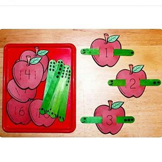 number craft idea for kid