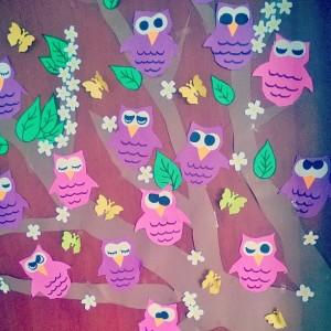 owl bulletin board idea (1)