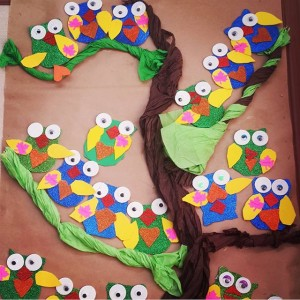 owl bulletin board idea (2)